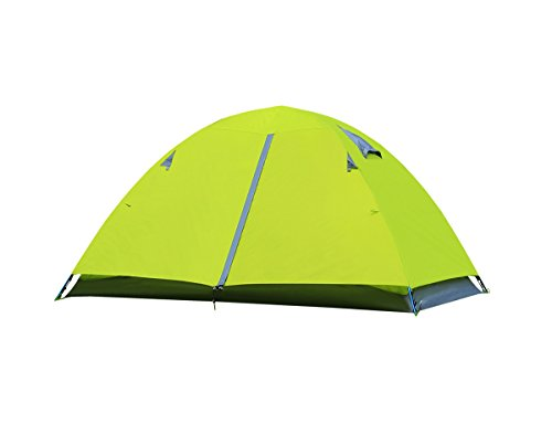 EverKing 2 Person Double Layer Camping Tent, Double Person 4 Seasons Portable Folding Tent, Waterproof Lightweight Backpacking Tent for Outdoor Camping Hiking with Carrying Bag