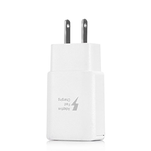 Yuly Wall Charger Adapter Dual USB Quick Charge QC 3.0 US Plug for iPhone Samsung
