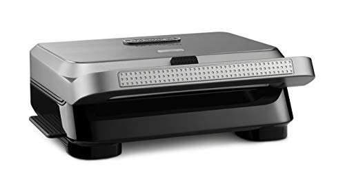 De'Longhi SW13ABC.S Livenza Compact All All Day Grill, 7.5 x 12.4 x 13.4 in