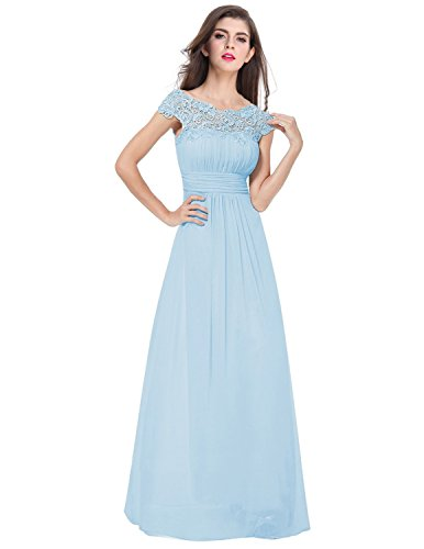 Blue Bridesmaid Gowns - 4
