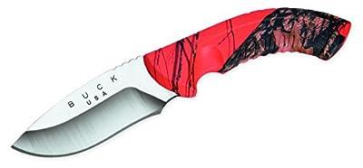 Buck Knives 392 Omni Hunter 12pt Fixed Blade Knife with Heavy-Duty Nylon Sheath