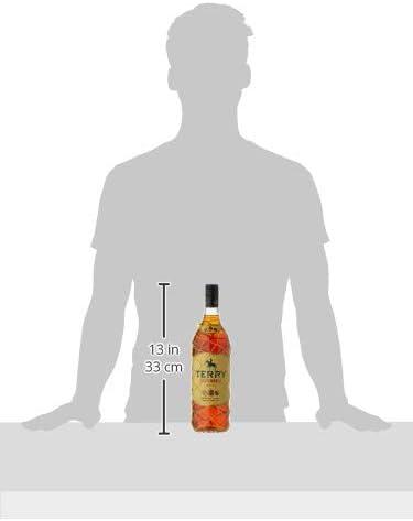 Terry Centenario Bebida Espirituosa, 1000ml: Amazon.es ...