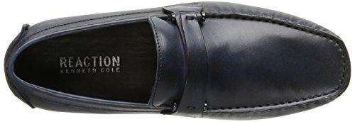 Kenneth Cole Reaktion Mens Konstruktion 201.462 Slip-on Loafer Flottan