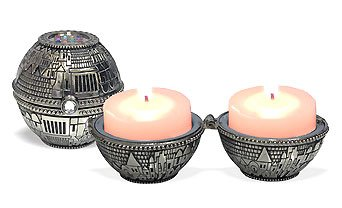 Jerusalem & Hoshen Candlesticks - Jewish Shabbat