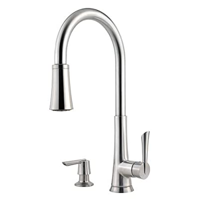 Pfister Mystique 1-Handle Pull-Down Kitchen Faucet with Soap Dispenser