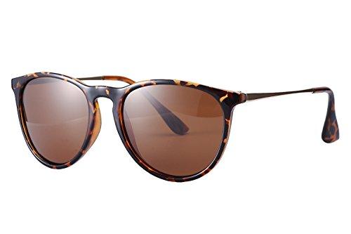 Eyerno Women Vintage Polarized Sunglasses Retro Erika Aviator Designer - Erika Glasses
