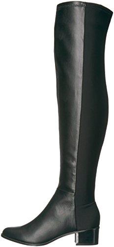 Calvin Klein Women's Carney Over the Knee Boot, Black Stretch, 9 Medium US by Calvin Klein (Image #5)