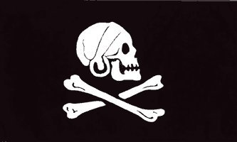 NEW 3X5 HENRY AVERY JOLLY ROGER PIRATE FLAG Skull -