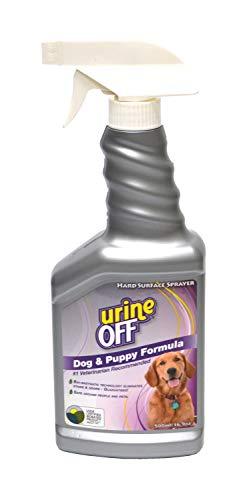 Urine Off Odor and Stain Remover Dog Formula Sprayer Top 16.9oz