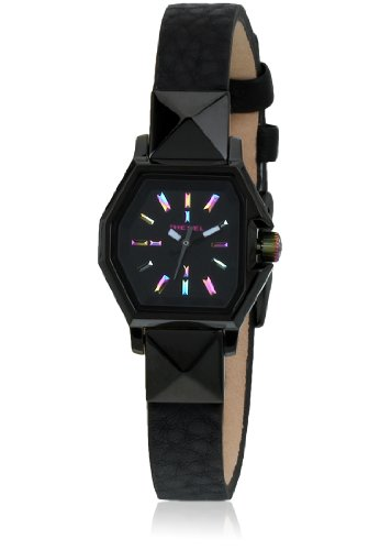 Diesel Analog Three-Hand Leather - Black Women's watch #DZ5300