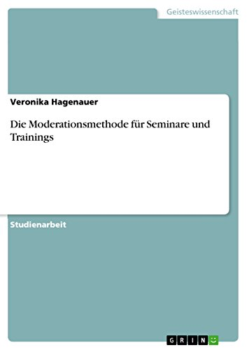 Used, Die Moderationsmethode für Seminare und Trainings (German for sale  Delivered anywhere in USA