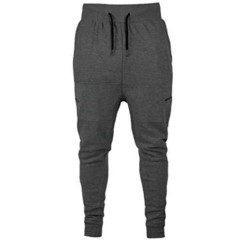 Skinny para Slim Vaqueros Pantalones Desgastada Pantalones EláSticos Slim con Pantalones Hombre Naturazy Oscuro Fit Fit Gris Vaqueros Destruidos Cinta Rasgados AqO1t57w