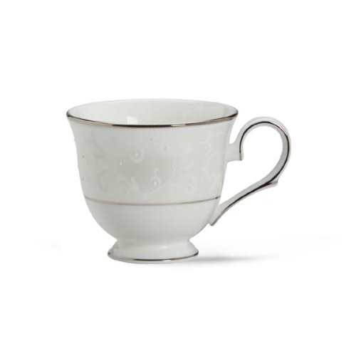 Lenox Opal Innocence Platinum Banded Bone China Cup
