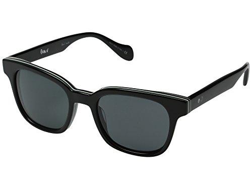 Paul Smith Unisex Denning - Size 51 Deluxe Onyx Stripe/Grey - Womens Smith Paul Sunglasses