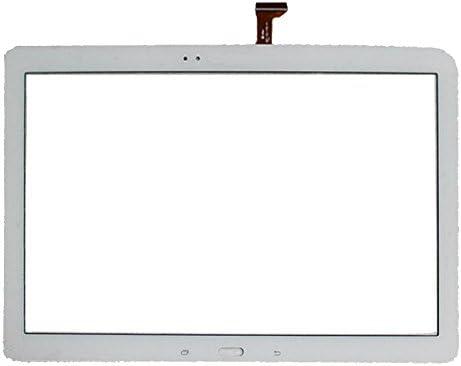 携帯電話のタッチスクリーン ギャラクシーノート用のパネルをタッチProは12.2 / P900 / P901 / P905(ブラック) (Color : 白)