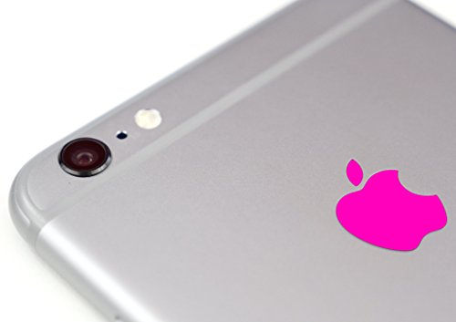 Neon Pink Color Changer Overlay for Apple iPhone 6 and 6 Plus Logo Vinyl Sticker Decal (Logo Apple Mug)