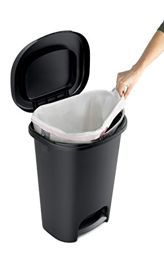 Touch Top Lid Trash Can Instead Of Overpriced Diaper Genie