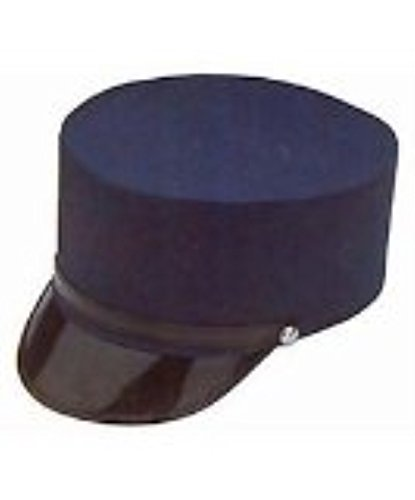 Large Navy Blue Conductor Hat (Polar Express Conductor Costume)