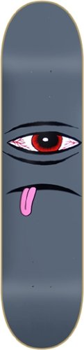 TOY MACHINE Skateboard Deck BLOODSHOT SECT EYE FACE BLACK 8.125