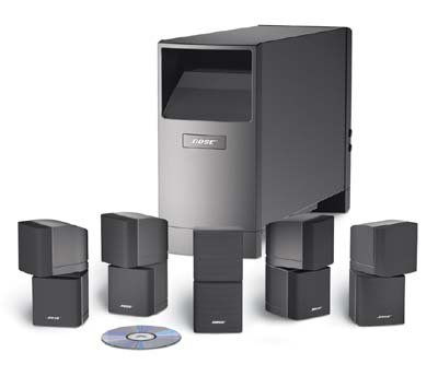BOSE Acoustimass 10 Series III -Silver - Speaker System