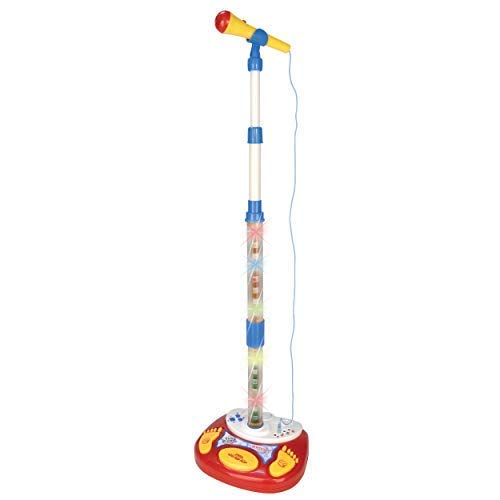 Little Toy Closet Karaoke Microphone with Adjustable Stand,