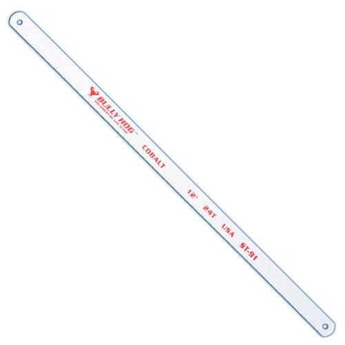 Stone Tools ST-91 12-Inch TPI 24 Bi-Metal Hacksaw Blades, 10 Pack