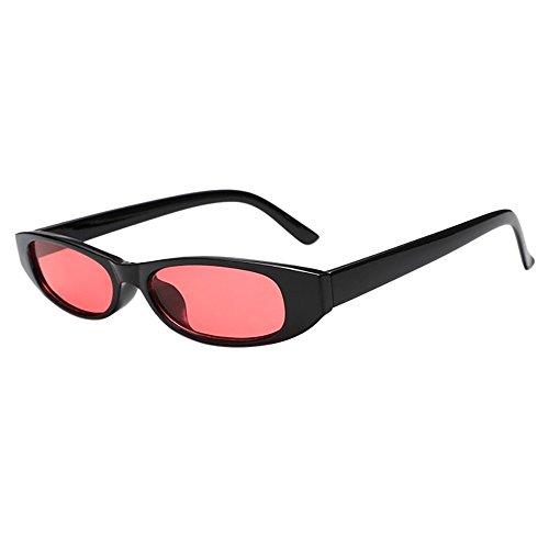 Ugood Glasses Retro Vintage Clout Cat Unisex Sunglasses Rapper Oval Shades Grunge Glasses (Color-I) ()