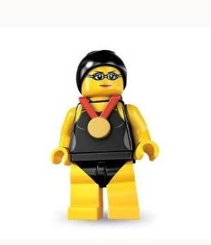 Lego Series 7 Swimming Champion Mini Figure