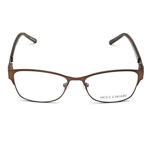 82905c634fa2da ... OCCI CHIARI - Monture de lunettes - Femme Taille unique Marron ...