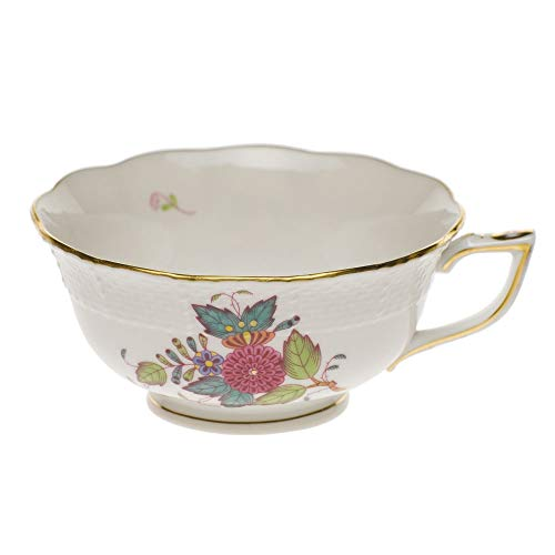 Herend Chinese Bouquet Multicolor Porcelain Tea Cup