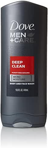 Dove Men Plus Care Body Wash, Deep Clean, 13.5 Ounce (Pack of 3)