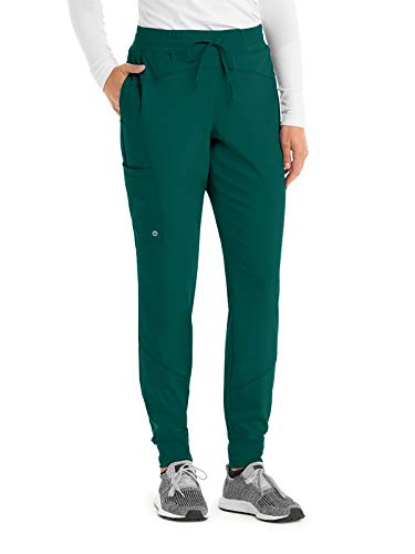 Barco One BOP513 Women's Boost Jogger Scrub Pant Hunter Green XST