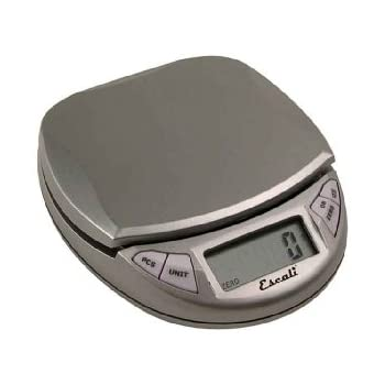 Escali PR500S Pico HP High Precision Digital Scale 500g, Metallic