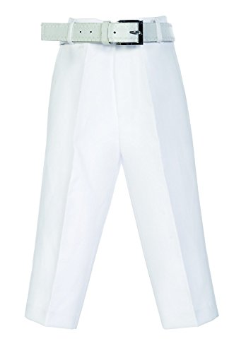 Avery Hill Boys Flat Front Dress Pants with Belt WH 12 -