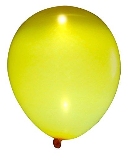 Latex Sunburst Yellow Light Balloons