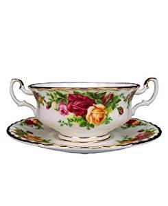(Royal Albert Old Country Roses 11-Ounce Cream Soup Cup and)