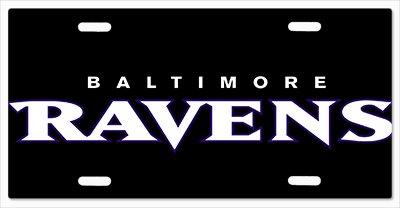 Baltimore Ravens - The Run v01 Vanity License Plate]()