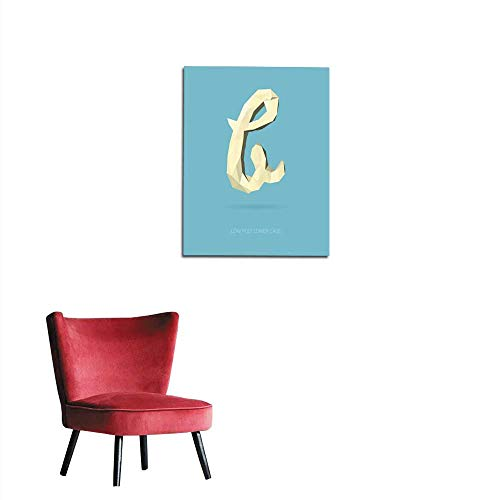 italian alphabet poster - 8