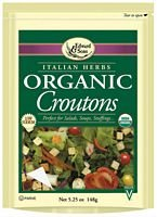 Edward & Sons Edward & Sons Croutons Organic Italian, 5.2500-ounces (Pack of6) by Edward & Sons (Image #1)