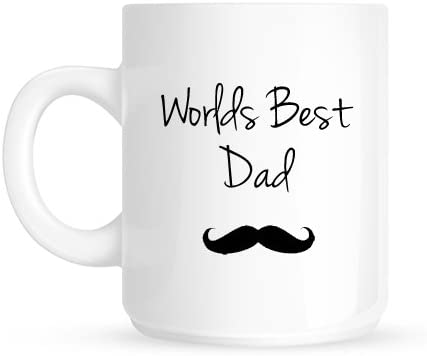Worlds Best Dad cadeau de Noël Mug Moustache: Amazon.ca: Home