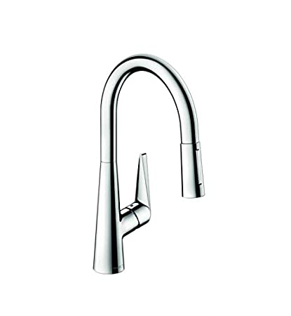 Hansgrohe 72813801 Talis S Kitchen Faucet, Steel Optic