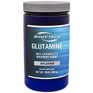 BodyTech Glutamine 4500 MG (24 oz Powder) by The Vitamin Shoppe by BODYTECH