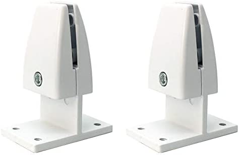 T Type, Silver haowei 6 Pcs Office Desk Divider Clamp Bracket Desk Privacy Screen Clip Holder