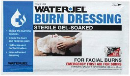 Water-Jel 1216-20 Technologies 12'' X 16'' Foil Pack Sterile Gel-Soaked Burn Dressing (1/EA) by Water-Jel Technologies