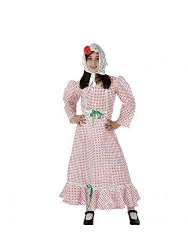 DISBACANAL Disfraz madrileña niña - Único, 10-12 años ...