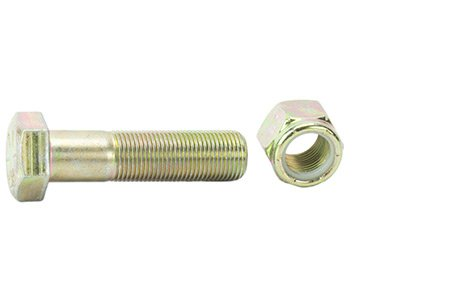 Nuts Bolts Specialty (RuffStuff Specialties Grade 8 Bolt With Nylon Locking Nut (1 Bolt/Nut Combo) (3/4