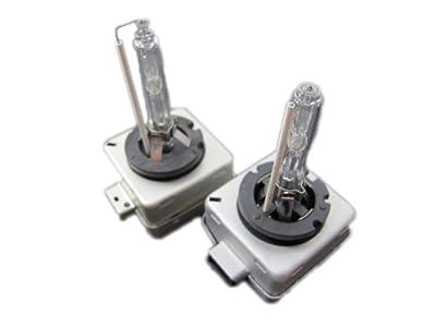 Elite Mailers Xenon HID Light Bulb - Replacement Bulb - D1S- D1R - 6000k - 2 pieces