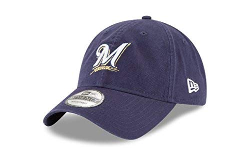 (New Era 920 MLB CORE Classic Replica Milwaukee Brewers 9TWENTY Game DAD Cap)