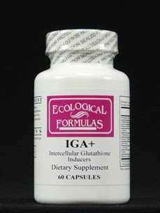 Cheap Ecological Formulas Iga+ 60 Caps