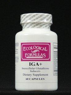 Ecological Formulas Iga+ 60 Caps
